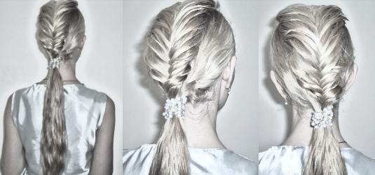Fishtail Braid | Hair Friendly Styles regarding Messy Fishtail Faux Hawk Hairstyles