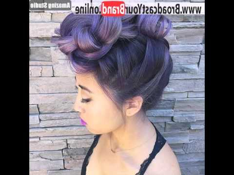 French Braid Pinup Faux Hawk - Youtube throughout French Braid Pinup Faux Hawk Hairstyles