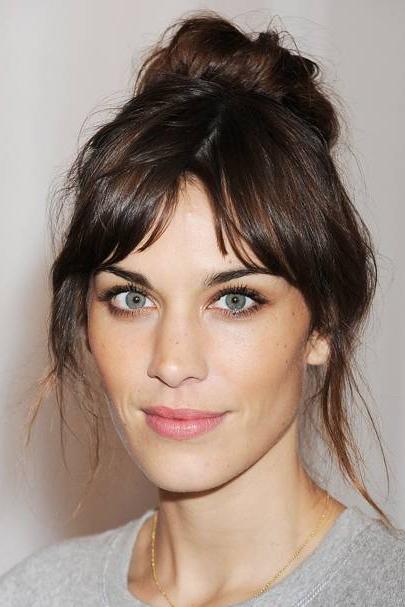 Fringe Hairstyles 2018 | British Vogue With Regard To Most Up To Date Brunette Feathered Bob Hairstyles With Piece Y Bangs (View 20 of 25)