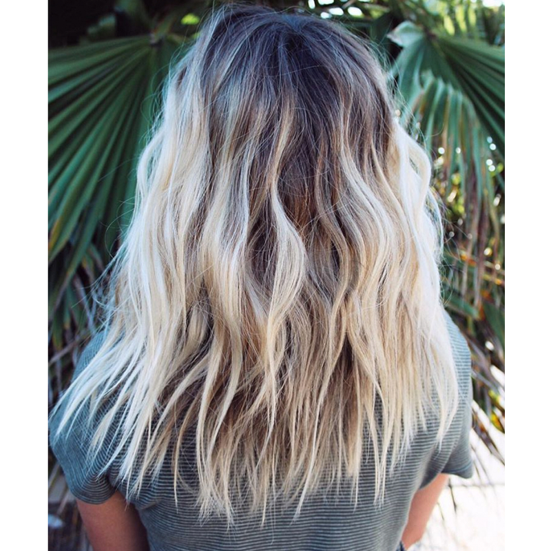 Give Your Clients This Guide To Keeping Hair Summer-Healthy pertaining to Latest Salty Beach Blonde Layers Hairstyles