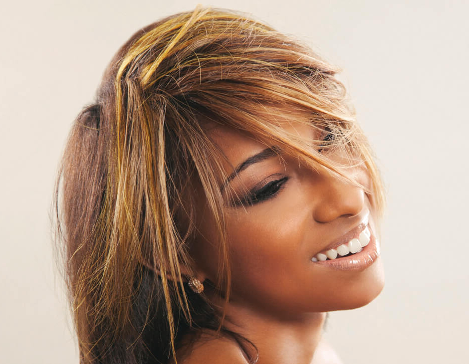 Golden Hues: Spring's Hottest Look With Recent Medium Golden Bronde Shag Hairstyles (Gallery 8 of 25)