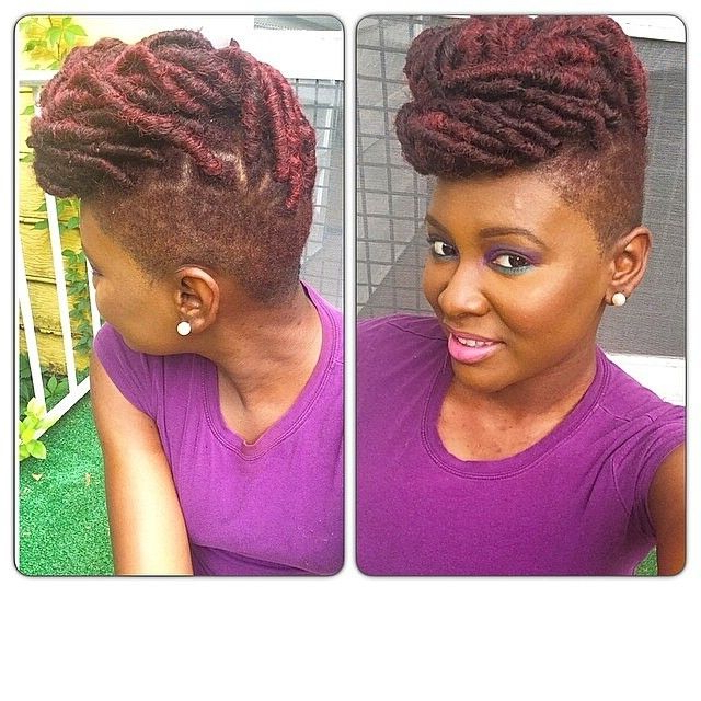 Good Hair Wigs And Natural Mohawk Hairstyles – Bigyellowzone Throughout Lavender Ombre Mohawk Hairstyles (View 25 of 25)