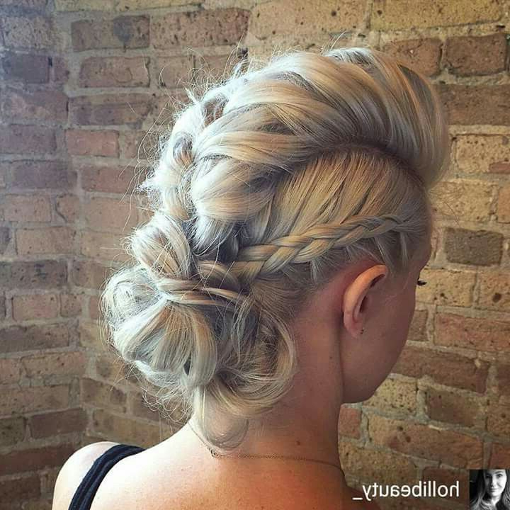 Gorgeous Faux Hawk Hairstyle!! | Wild Thing Hair | Luvly Long Locks Throughout Long Lock Mohawk Hairstyles (Gallery 18 of 25)
