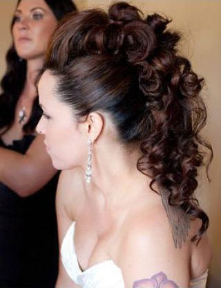 Gorgeous Faux Hawk Updo ~ We ? This! Moncheriprom With Divine Mohawk Like Updo Hairstyles (View 20 of 25)