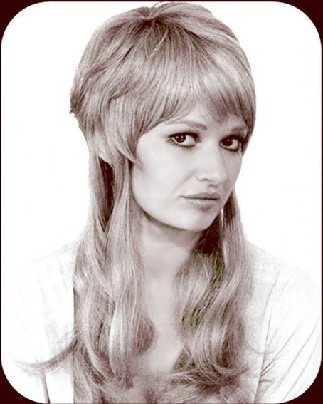 Great Bilevel Look. | Shag | Pinterest | 70S Hair, Hair And Hair Styles Pertaining To Newest Longer Hairstyles With Feathered Bottom (Gallery 19 of 25)