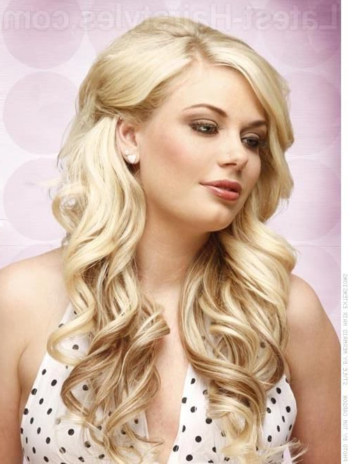 Hair Back On One Side | Long Hair Platinum Layered Style – Pinned For 2018 Platinum Layered Side Part Hairstyles (View 5 of 25)