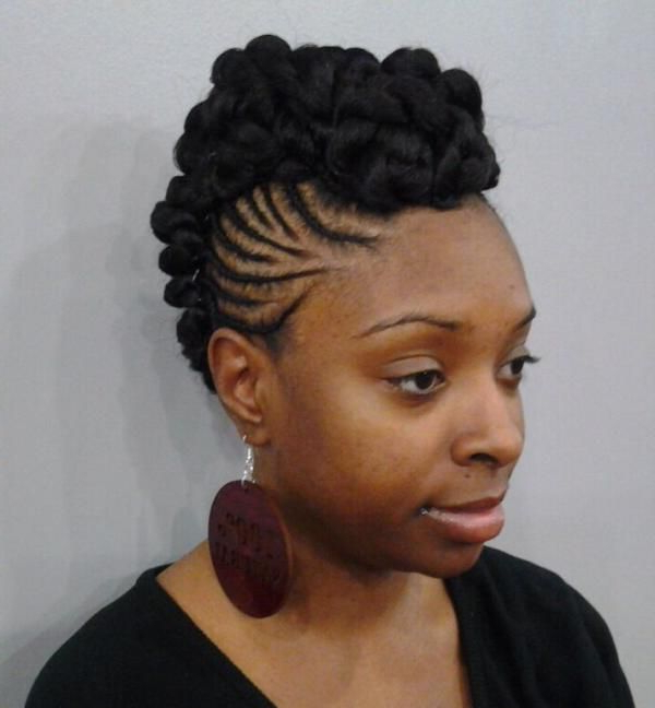 Hair Colors Inspiration For You Using Cool Short Mohawk Hairstyles Inside Twist Curl Mohawk Hairstyles (View 25 of 25)