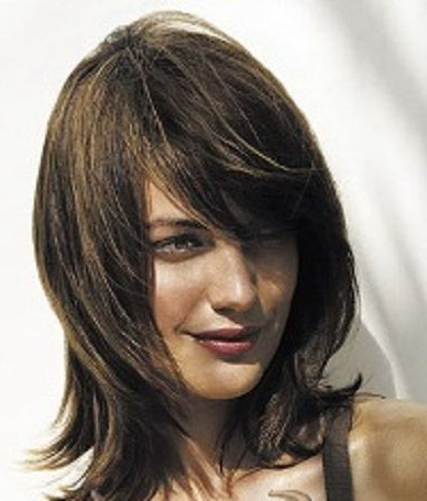 Hair News Info – Cascade Haircut With Long Bangs | Hair Color/styles Within Newest Medium Length Cascade Hairstyles (View 2 of 25)