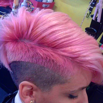 Hair On Fire Florida Regarding Hot Pink Fire Mohawk Hairstyles (View 15 of 25)