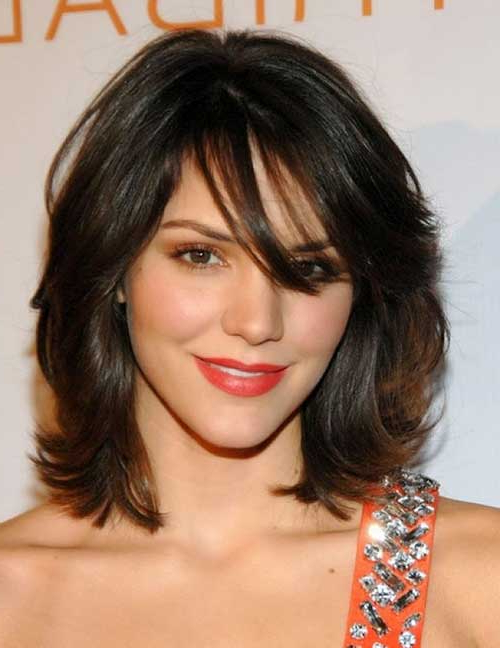 Haircuts For Medium Thick Hair | Hairstyles & Haircuts 2016 – 2017 In Most Current Layered Haircuts For Thick Wavy Hair (View 8 of 25)