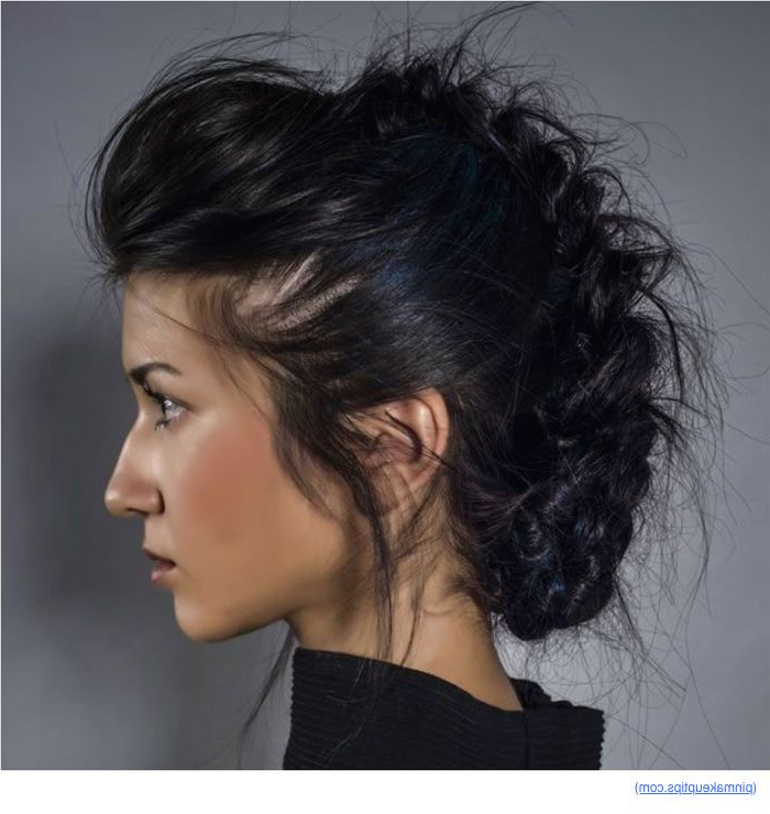 Hairstyle Tips – Part 298 Intended For French Braid Pinup Faux Hawk Hairstyles (View 24 of 25)