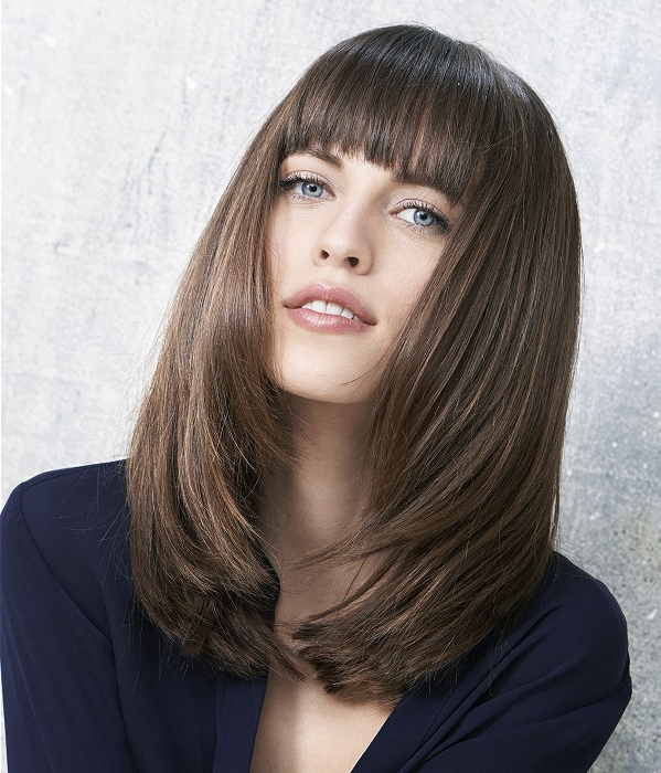 Hairstyles For Long Faces Throughout Most Recent Elongated Layered Haircuts For Straight Hair (View 17 of 25)