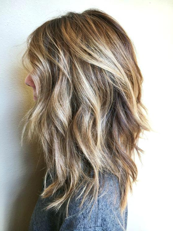 Hairstyles For Medium Short Hair Messy Curly Haircut For Shoulder Intended For 2018 Medium Messy Curly Haircuts (View 20 of 25)