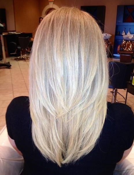 Featured Photo of Shoulder Length Haircuts With Long V Layers