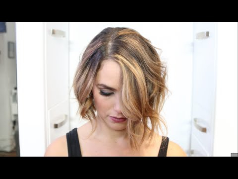 How To Balayage Blonde Bronde Textured Chopped Bob Makeover – Youtube Inside Recent Medium Golden Bronde Shag Hairstyles (View 25 of 25)