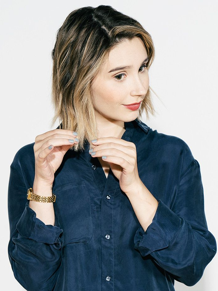 How To Curl Short Hair: A Tutorial | Byrdie Within Most Recently Effortlessly Tousled Hairstyles (View 11 of 25)