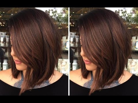 How To Cut A Medium Length Layered Hair Cut – Long Bob Haircut With Current Shoulder Length Haircuts With Long V Layers (View 23 of 25)