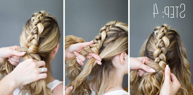 How To Do A Fauxhawk Braid – Beautyeden Di Bianco Intended For French Braid Pinup Faux Hawk Hairstyles (View 18 of 25)