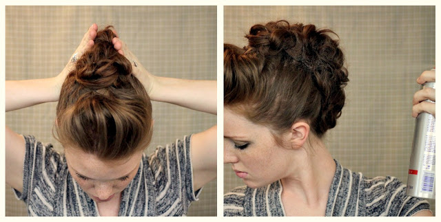 How To Style A Faux Hawk Updo   Fashionisers Intended For Unique Updo Faux Hawk Hairstyles (View 9 of 25)