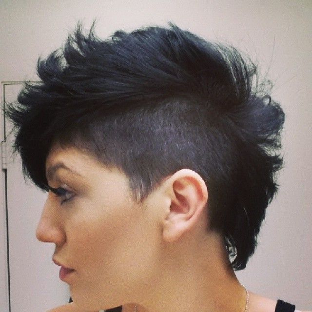 Featured Photo of The Pixie Slash Mohawk Hairstyles