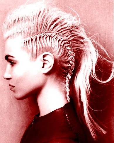 I Want My Hair Like This Next Time I Do A Spartan Race Or A Tough Regarding Spartan Warrior Faux Hawk Hairstyles (View 8 of 25)
