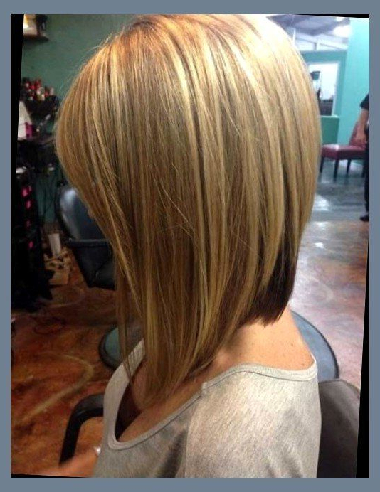 Featured Photo of Long Angled Bob Hairstyles With Chopped Layers