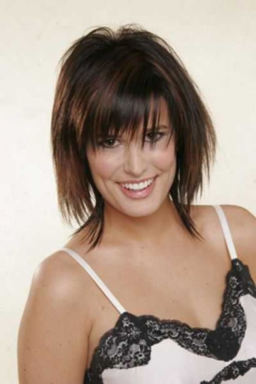 Is Razor Cut Hair Right For You? – Visual Makeover With Recent Shoulder Length Haircuts With Jagged Ends (View 21 of 25)