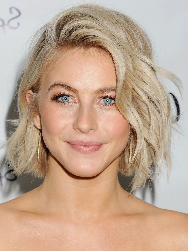 Julianne Hough Rocks The Perfect Summer Hair: A Choppy Mid Length Inside Best And Newest Choppy Waves Hairstyles (View 17 of 25)