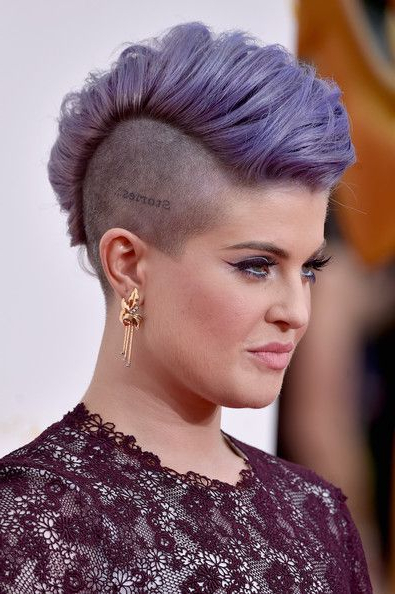 Kelly Osbourne | Hair | Pinterest | Hair, Mohawk Hairstyles And Hair In Innocent And Sweet Mohawk Hairstyles (View 3 of 25)