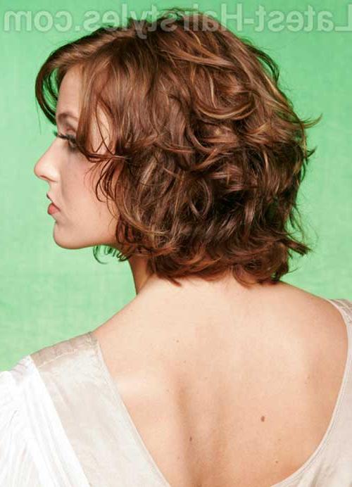 Layered Bob Haircuts For Curly Hair – Leymatson With Most Current Curly Layered Bob Hairstyles (View 21 of 25)