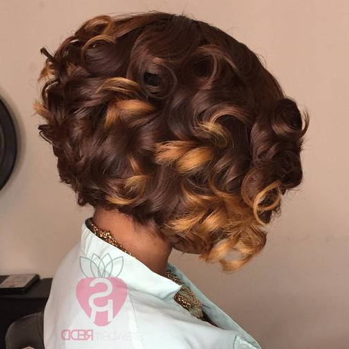 Layered Bob Haircuts – Style Samba With Regard To Most Recently Curly Layered Bob Hairstyles (View 22 of 25)