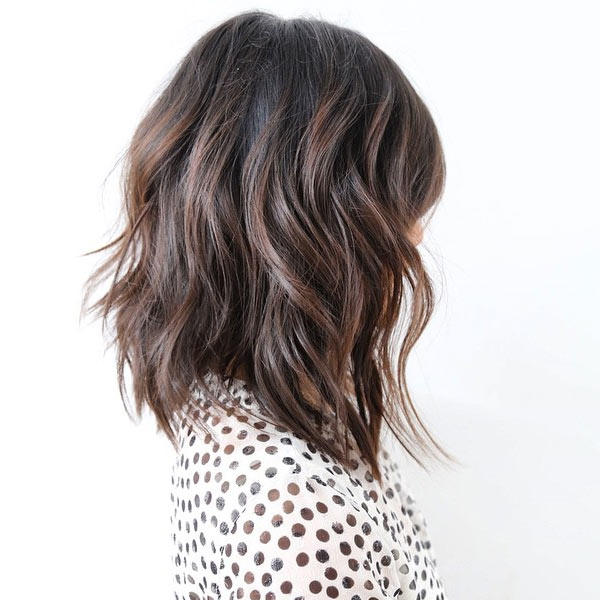 Layered Wavy Bob Hairstyle For Women – Popular Haircuts With Regard To Most Up To Date Long Layers For Messy Lob Hairstyles (View 21 of 25)