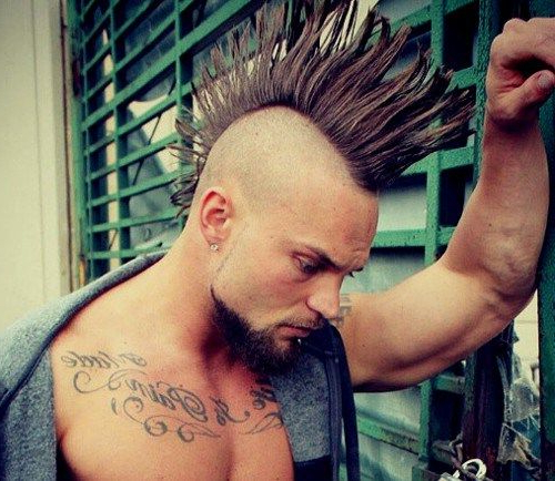 Featured Photo of Work Of Art Mohawk Hairstyles