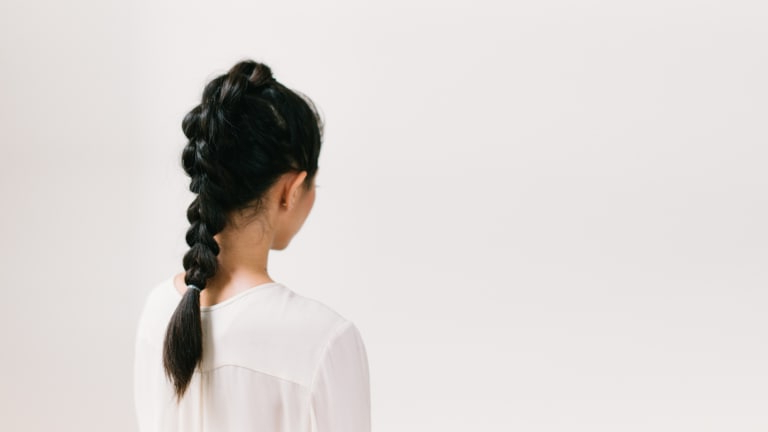 Learn To Do A Feminine And Edgy Fauxhawk Faux Braid – Verily Intended For Lobster Tail Faux Hawk Hairstyles (View 21 of 25)