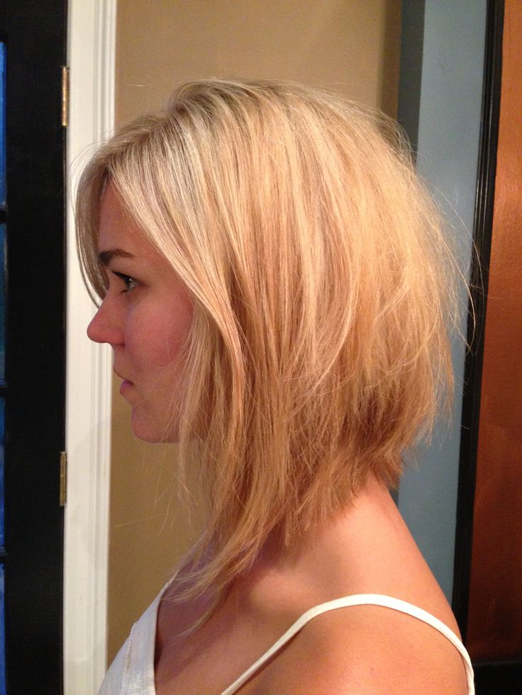 Long Inverted Bob Hairstyle — Wedding Academy Creative : Best Photos Regarding Best And Newest Long Angled Bob Hairstyles With Chopped Layers (View 10 of 25)