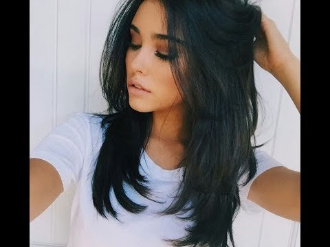 Long To Medium Length Haircut Wavy Hair Tutorial – Nick Arrojo – Youtube In 2018 Mid Length Haircuts With Curled Layers (View 15 of 25)