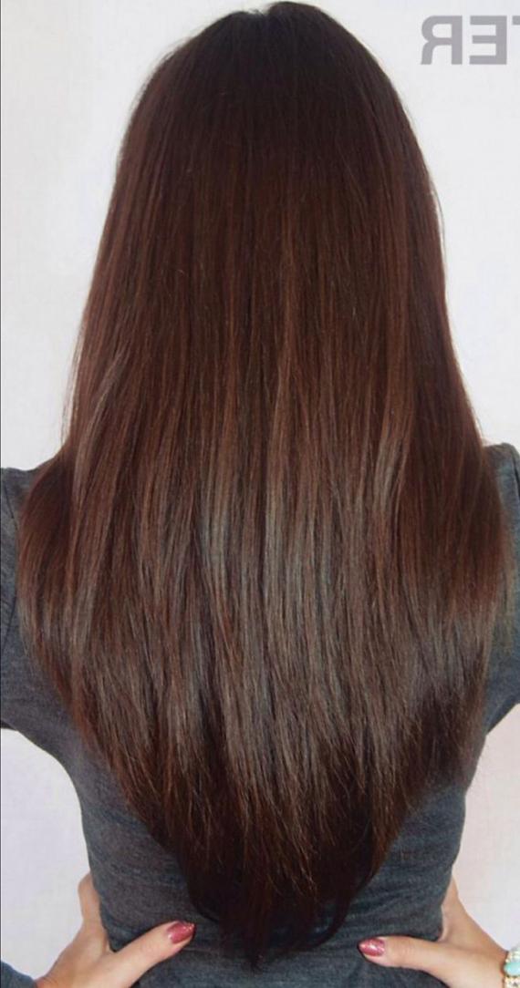 Long V Cut Layered Hairstyles V Cut Layered Long Layers Long Hair Pertaining To Most Popular V Cut Layers Hairstyles For Thick Hair (View 21 of 25)
