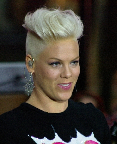 Looking For Picture Of Pink's Mohawk? Throughout Funky Pink Mohawk Hairstyles (View 12 of 25)