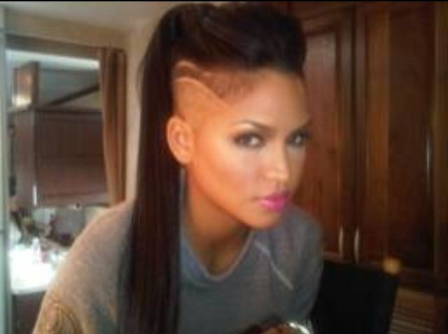 Love Love Love Love This! Want! | Cassie | Pinterest | Hair Tattoos With Heartbeat Babe Mohawk Hairstyles (View 9 of 25)