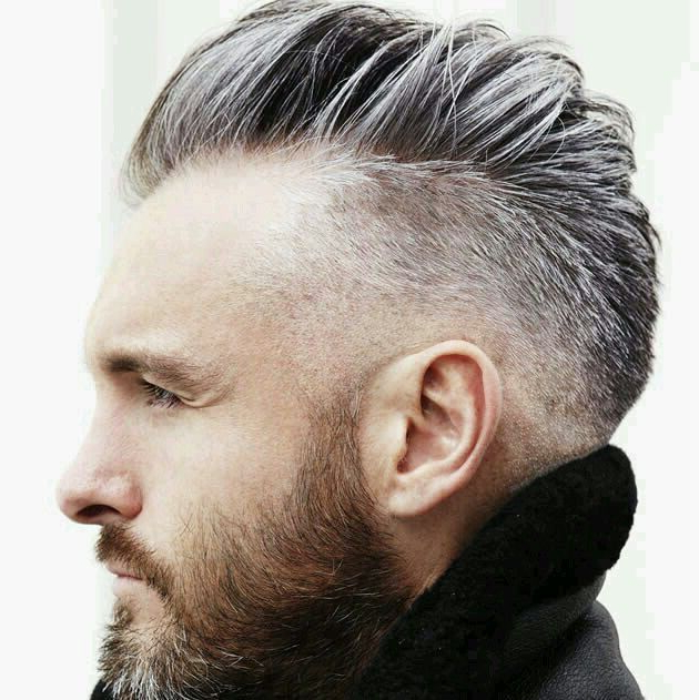 Managing Greying Men's Hair – Camouflaging Grey Hair Live True London With Steel Colored Mohawk Hairstyles (View 15 of 25)