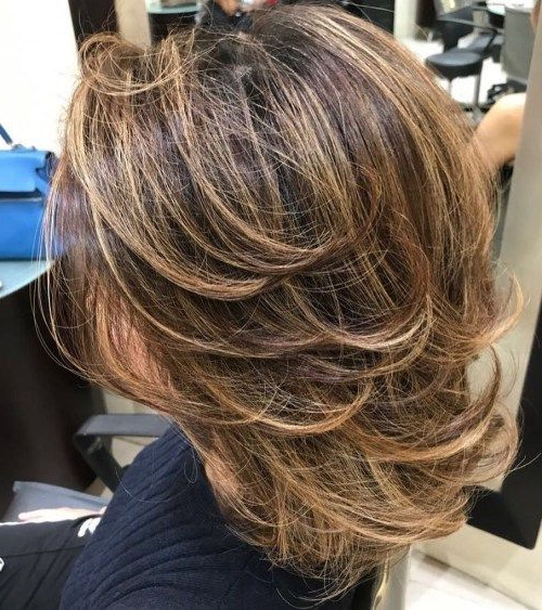 Medium Layered Haircuts 16 | 001 Photos Plaisir | Pinterest Intended For Most Recently Medium Hairstyles With Perky Feathery Layers (View 19 of 25)