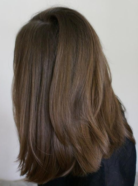 Medium Lenght, U Shaped Cut | Hair! | Pinterest | Hair, Hair Cuts Inside Recent Mid Length Two Tier Haircuts For Thick Hair (View 15 of 25)