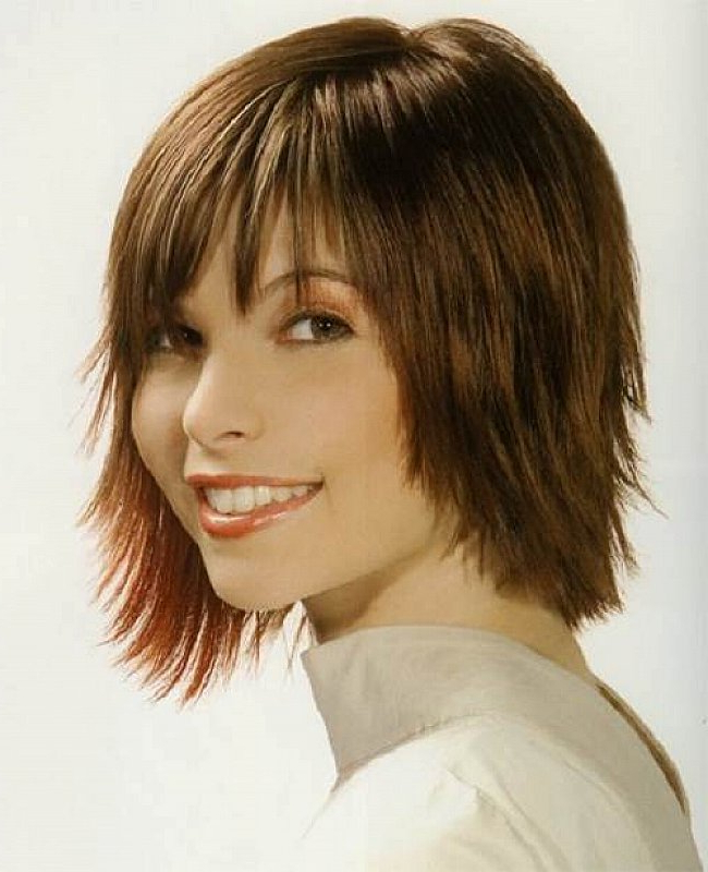 Medium Length Shaggy Bob Layered Hairstyles Seriously Chic Medium For Most Current Chic Medium Shag Hairstyles (View 16 of 25)