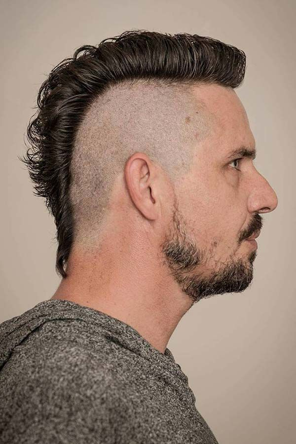 Meet The Versatile Variations Of The Daring Mohawk Haircut | Cool Inside Versatile Mohawk Hairstyles (View 9 of 25)