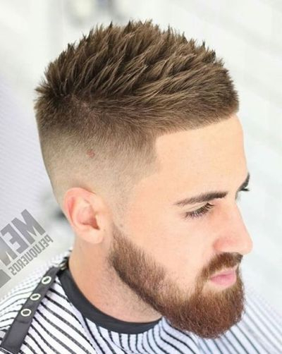 Mens Fade Haircuts – 54 Cool Fade Haircuts For Men And Boys With Regard To Spikey Mohawk Hairstyles (View 20 of 25)