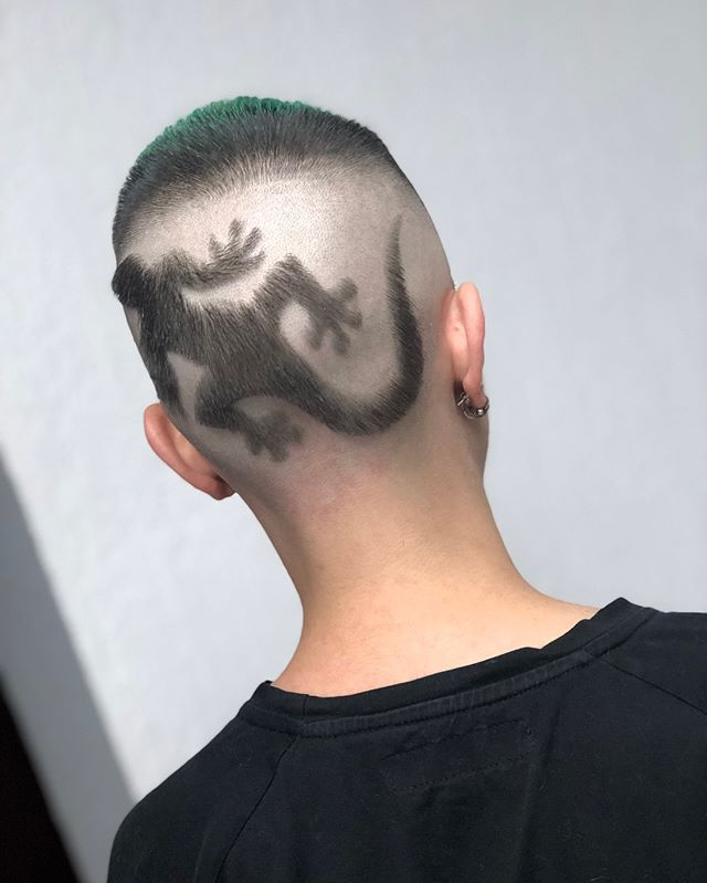 Men's Hair, Haircuts, Fade Haircuts, Short, Medium, Long, Buzzed Pertaining To High Mohawk Hairstyles With Side Undercut And Shaved Design (View 18 of 25)