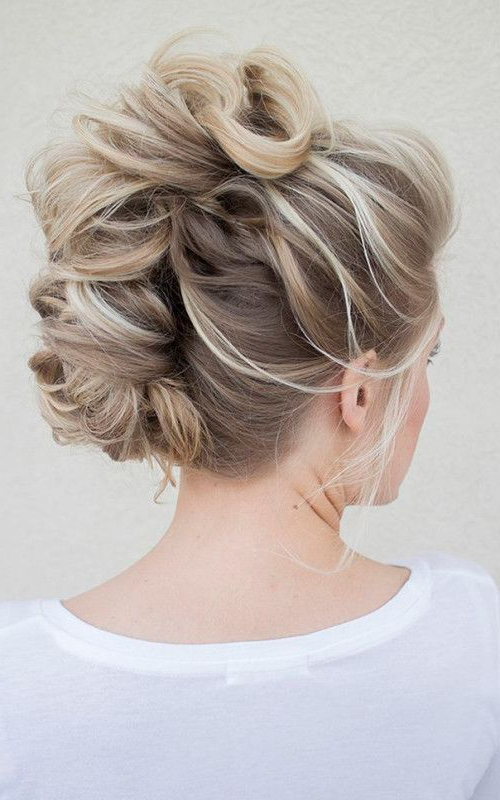 Messy #braided Faux Hawk #hairstyle Http://tinkiiboutique With Regard To Messy Braided Faux Hawk Hairstyles (View 14 of 25)