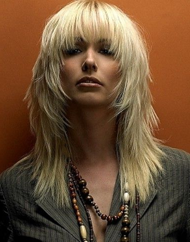 Messy Choppy Layered Hairsyles | Hair And Makeup | Pinterest | Hair Within Latest Medium Messy Feathered Haircuts (View 10 of 25)