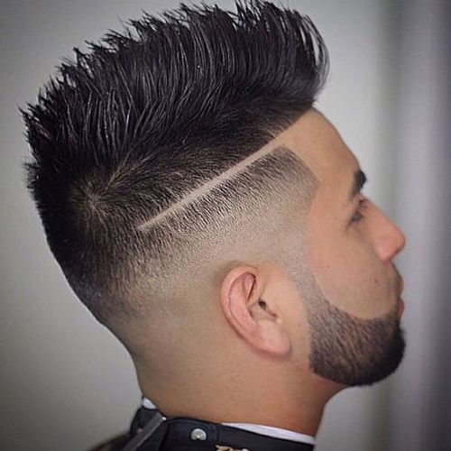 Mexican Hair – Top 19 Mexican Haircuts For Guys Within Spikey Mohawk Hairstyles (View 13 of 25)