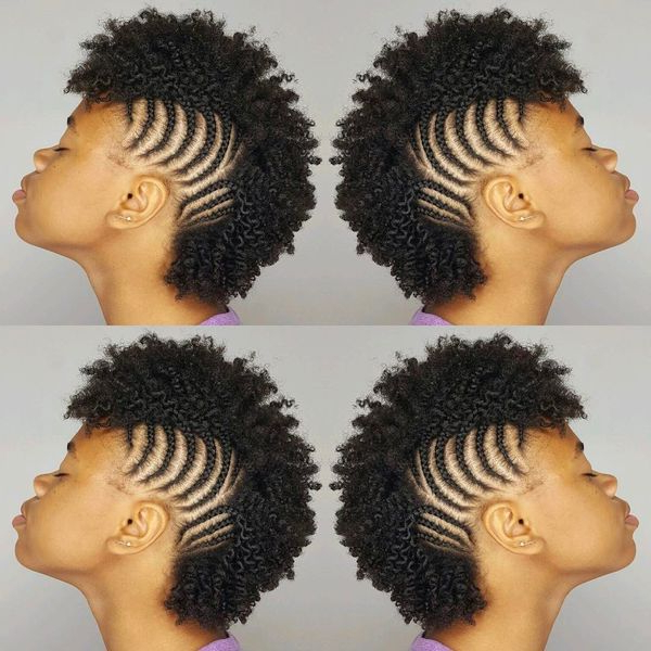 Mohawk Braid Hairstyles, Black Braided Mohawk Hairstyles Intended For Braided Mohawk Hairstyles (View 21 of 25)